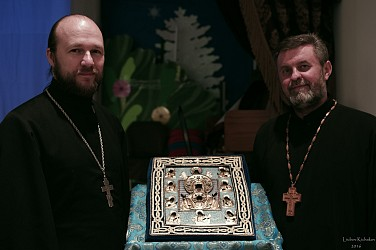 Rev. Antony Alekseyenko and Archpriest Yaroslav Murgan