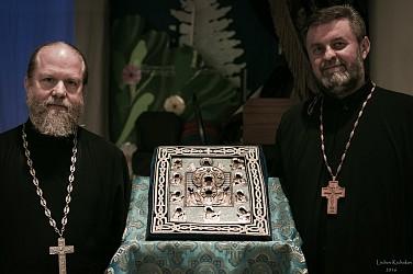 V. Rev. Gregory Joyce and Archpriest Yaroslav Murgan