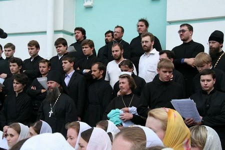 Peter Gudkov with Stretensky Monastery Choir